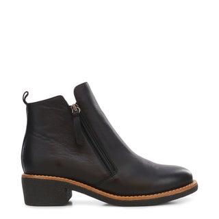 Bridgerton Leather Ankle Boots