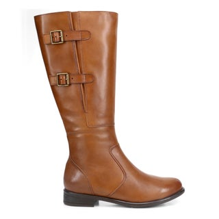 Equine Leather Knee High Boots