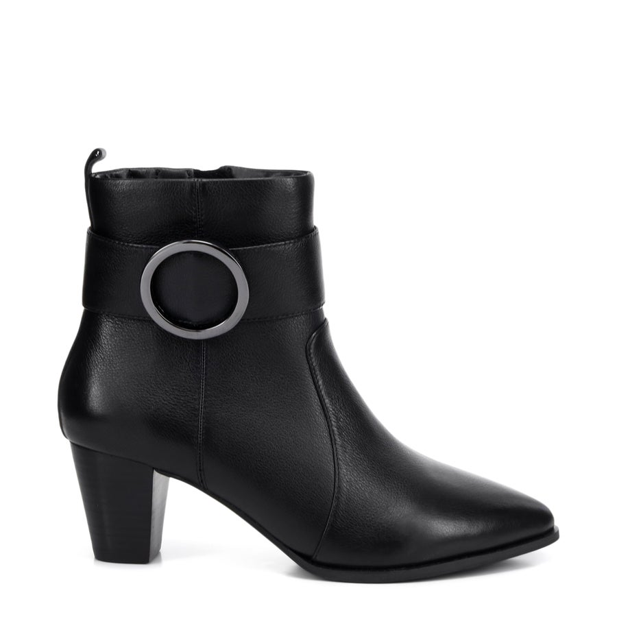 Isola Leather Ankle Boots