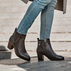 Shelter Leather Ankle Boots